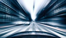 запачкайте место специальный быстро проходя тонизированный x обочины фото peterburg движения фокуса f автомобиля sant Стоковая Фотография