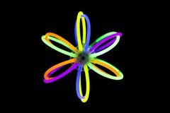 Запачкайте шарик в движении сделанном с светами ручек зарева дневными Стоковая Фотография RF