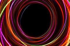 Запачканная абстрактная линия от света СИД Стоковые Фотографии RF