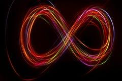 Запачканная абстрактная линия от света СИД Стоковое Изображение