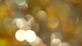 Запачканная абстрактная предпосылка кругов цвета проблескивая сток-видео