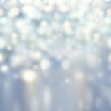 Запачканная абстрактная предпосылка освещает - круговые отражения Chr стоковые фото