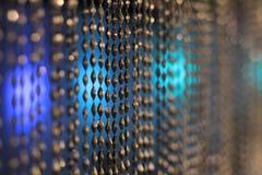 Запачканная абстрактная цепь занавеса стоковое фото rf