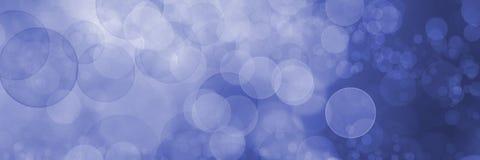 Запачканная голубая предпосылка с сверкная светами стоковая фотография rf