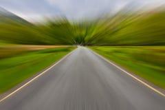запачканная дорога Стоковые Фотографии RF