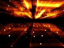 Запачканная золотая предпосылка - конспект цифров произвел изображение Стоковая Фотография