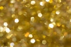 Запачканная искра золота Стоковые Изображения RF