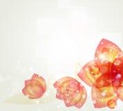 Запачканная конспектом предпосылка цветка Стоковые Изображения