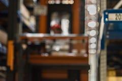 Запачканная мастерская собрания на большом промышленном предприятии Стоковая Фотография