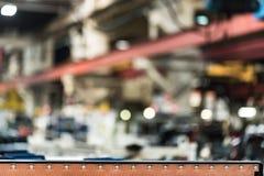 Запачканная мастерская собрания на большом промышленном предприятии Стоковые Фотографии RF