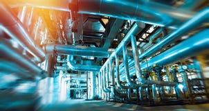запачканная нерезкость, труба, трубопровод, машина, интерьер, внутри, завод, стоковые изображения rf