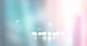 Запачканная пастельная и красочная городская сцена предпосылки здания Стоковое Изображение