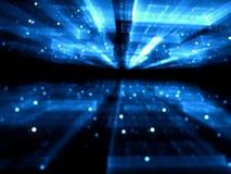 Запачканная предпосылка технологии - резюмируйте цифров произведенное ima Стоковые Изображения