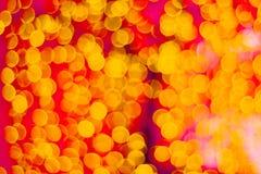 запачканная предпосылка цвета абстрактная со светами bokeh defocused стоковое изображение