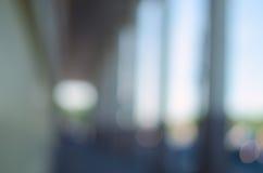 Запачканная предпосылка города - сдобренная дорожка Стоковые Изображения RF