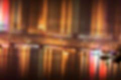 Запачканная предпосылка городских пейзажей Стоковое Фото