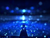 Запачканная предпосылка фрактали - конспект цифров произвел изображение Стоковое Фото