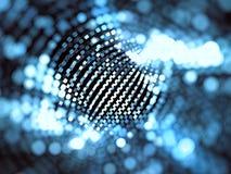 Запачканная решетка техника - конспект цифров произвел изображение Стоковые Изображения RF