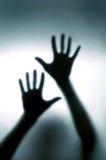 запачканная рука Стоковые Изображения RF