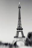 Запачканная съемка Эйфелева башни в Париже, Франции Стоковое Фото