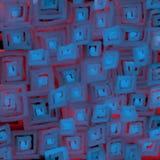 Запачканная текстура голубого света квадратов бесплатная иллюстрация