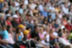 запачканная толпа Стоковая Фотография RF