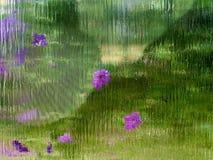 Запачканное абстрактное стекло стоковые изображения