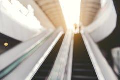 Запачканное изображение moving лестницы Стоковая Фотография