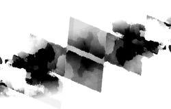 Запачканное светотеневое изображение пятен на белой предпосылке для вашего дизайна Стоковое фото RF
