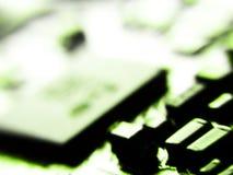 Запачканное электронное Стоковое Изображение RF