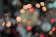 Запачканное Bokeh освещает Multi цвет стоковое изображение rf