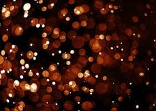 Запачканное bokeh яркого блеска светлооранжевое Стоковые Фото