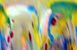 Запачканные голубые цветов шаловливые приглаживают предпосылку волн, абстрактную предпосылку Стоковая Фотография RF