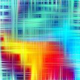 Запачканные красочные линии абстрактные предпосылка и текстура Стоковое Фото
