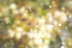 Запачканные света и defocused светлые точки Стоковое Изображение