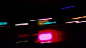 Запачканные света ночи акции видеоматериалы