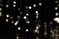 Запачканные света Одно среди запачканных сотен светов, Стоковое Изображение