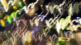 запачканные света цвета Стоковые Фотографии RF
