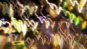 запачканные света цвета Стоковые Фото