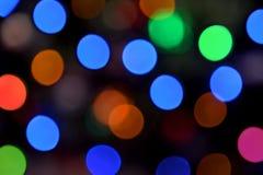 Запачканные света Стоковые Фотографии RF