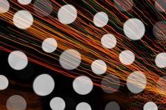 Запачканные света Стоковые Изображения RF