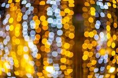 Запачканные света bokeh Стоковое фото RF