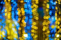 Запачканные света bokeh Стоковое Изображение RF