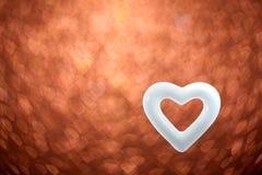 Запачканные сердца цвета Стоковая Фотография
