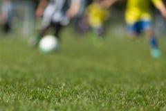 Запачканные футболисты стоковая фотография