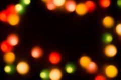 запачканные цветастые света Стоковые Изображения