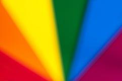 Запачканные цвета радуги Стоковые Фото