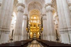 запачканные люди Испания вочеловечения фасада выдержки собора длинние главные Стоковые Фотографии RF