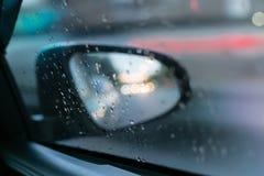 Запачканный автомобиля стоковое изображение