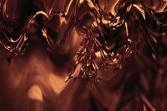 Запачканный график со стилем bokeh Тропическое художественное произведение обоев Темный выплеск жидкости шоколада стоковая фотография